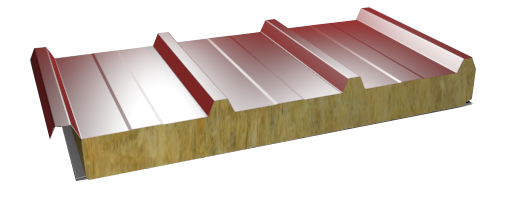 Emimar roof fire resistant sandwich panels with mineral wool for Fire resistant roofing
