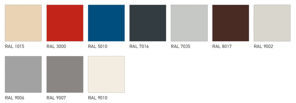 ral rr colors paneltech
