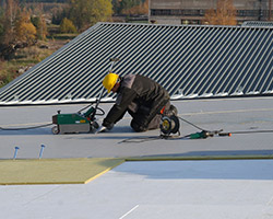 PVC membrane roofing