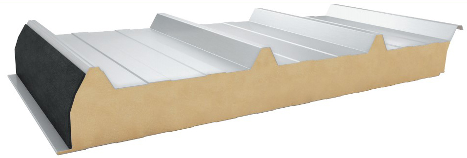 Roof sandwich panels EMR4-PIR 1050 and EMR4-PUR 1050